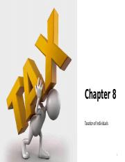 Chapter 8 Taxation of Individuals
