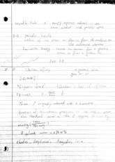 Notes on periodic trends