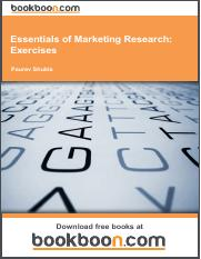 Essentials of Marketing Research_ Exercises