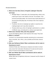 Muisc App 4 Text Questions