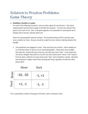 Game Theory Modeling as a Game
