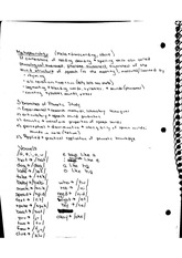 Metaphonology Notes