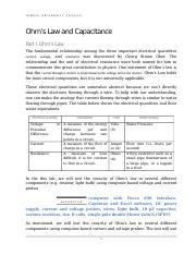 Ohm's Law and Capacitance(1).docx