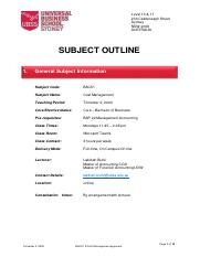 BAC51 - Cost Management- Subject Outline - T2 2020.pdf