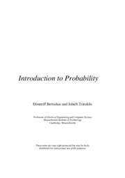 Introduction to Probability-Dimitri