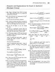 Practice Exam 2 MC & FRQ Answers