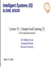 ELE888_EE8209_Lecture10 - Unsupervised Learning & Evolutionary [3] - commented.pdf