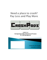 CrashPads+BusinessPlan