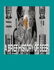 Essays in brewing science