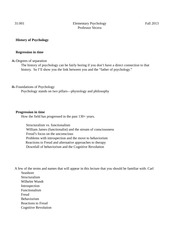 History and Research Methods of Psychology Outlines