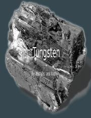 tungsten metallurgy.pptx
