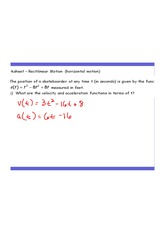 Wkst-Rect  Motion Lesson Problems AK