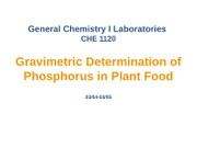 gravimetric determination of moisture and phosphorous Gravimetric gravimetric description gravimetric categories philosophy published may 20, 2018 download please download to get full document view again share.