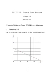 Econ2101 practice exam detailed solutions