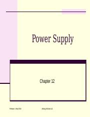 BASIC-ELECTRONICS (12. Power Supply)