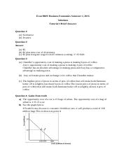 Solutions Tutorials 1 - 7