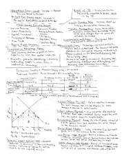 Intro to Macroeconomics Cheat Sheets (5)