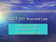 ACCT 3151 Business PP1