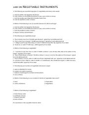 Law on negotiable instruments 2.doc