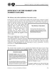 2.2 Efficiency of the Market and Market Failures.pdf