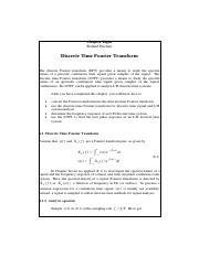 Principles of Digital Signal Processing Chapter 8