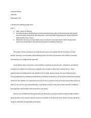 philosophy of nursing assignment 2 When writing a philosophy of nursing, there are important points to be covered here are useful examples and helpful quotes to describe your devotion for nursing.