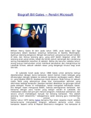 Biografi Bill Gates 2