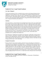 Wrist - Carpal Tunnel Syndrome OT.pdf