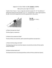 Physics - Assignment 6- Block Pulled Up Incline (1)