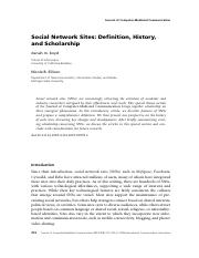 Social Network Sites (JMS210).pdf