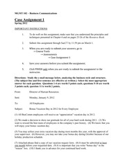 Case Assignment 1 - S12
