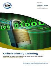 ISA99 Certificate Program vs  Other Programs (1) xlsx - ISA