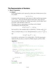 Math 366 Lecture 3 Floating Point