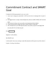 Commitment Contract and SMART Goal (2).docx