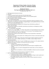 Week 6 Handout - Ancient-style Prose Movement and Han Yu (1)