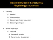 flex & Muscle Physiology spr 2012