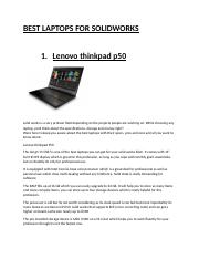BEST LAPTOPS FOR SOLIDWORKS.docx
