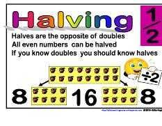 Halves- Maths Strategies
