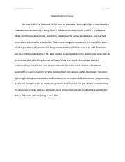 Networking Event Essay #1.docx