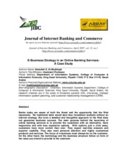 E-Business_Strategy_in_an_Online_Banking_Services_A_Case_Study