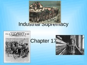 Chapter 17 - Industrial Supremacy