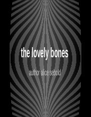 the lovely bones essay on grief