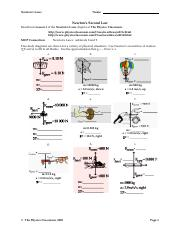 Newtonslaws11 Newton S Laws Name Drawing Free Body Diagrams Review
