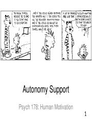 Lecture 10 Autonomy Support FINAL