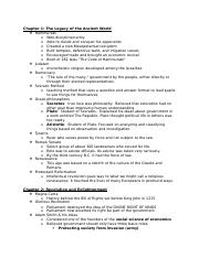 World History_1st Semester Study Guide.doc