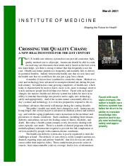 Quality Chasm 2001  report brief (2)1.pdf