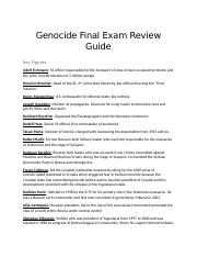 Genocide Final Exam Review Guide.docx