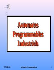 01-Cours Automate.ppt