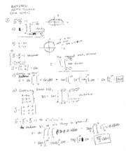 Homework 11 solutions Version 1