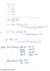 Lesson 2 Notes Including Absolute Value